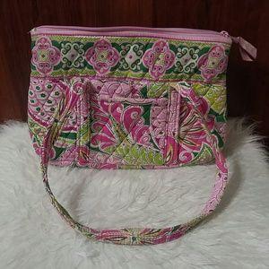 Vera Bradley Pinwheel Pink Little Betsy bag